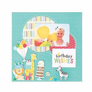 Birthday Wishes Cardstocks by Pebbles Inc - Happy Hooray